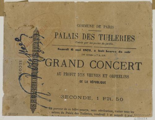 Concert au Tuileries, 6 mai 1871