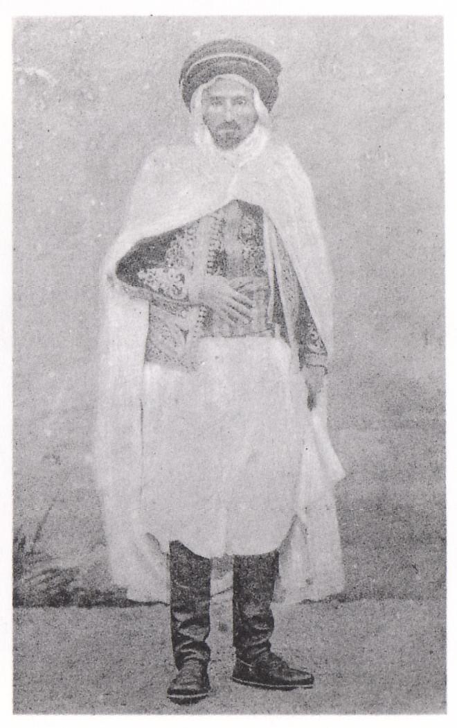 EL Mokrani, chef de la révolte kabyle en 1871