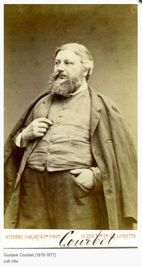 Gustave Courbet [Collection Musée d'Histoire vivante, Montreuil]