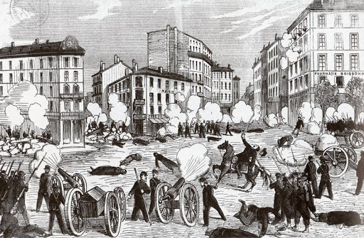 Les affrontements de la Guillotière, Lyon, 30 avril 1871