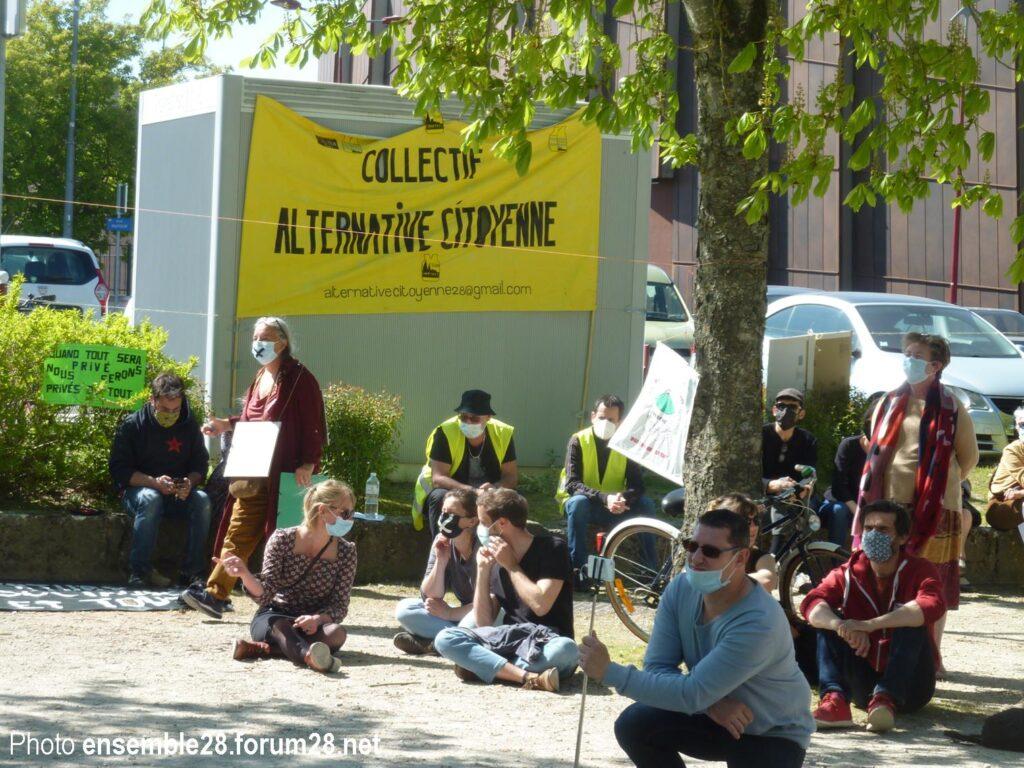 Lucé 24-04-2021 Assemblée citoyenne initiée par les Gilets Jaunes