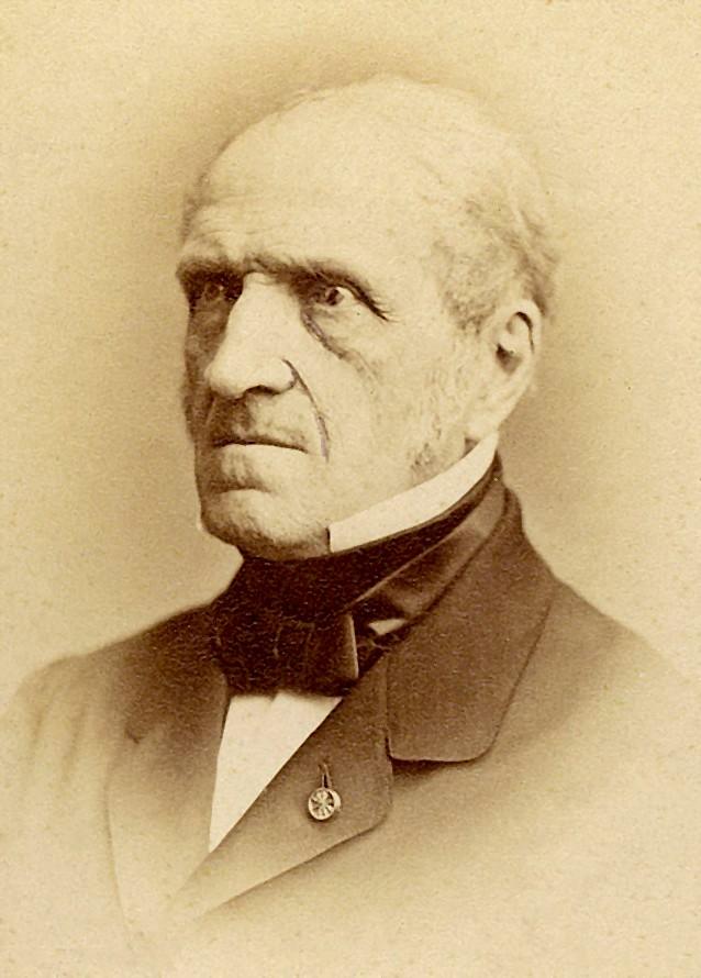Portrait de Michel Chasles (1793-1880), mathématicien