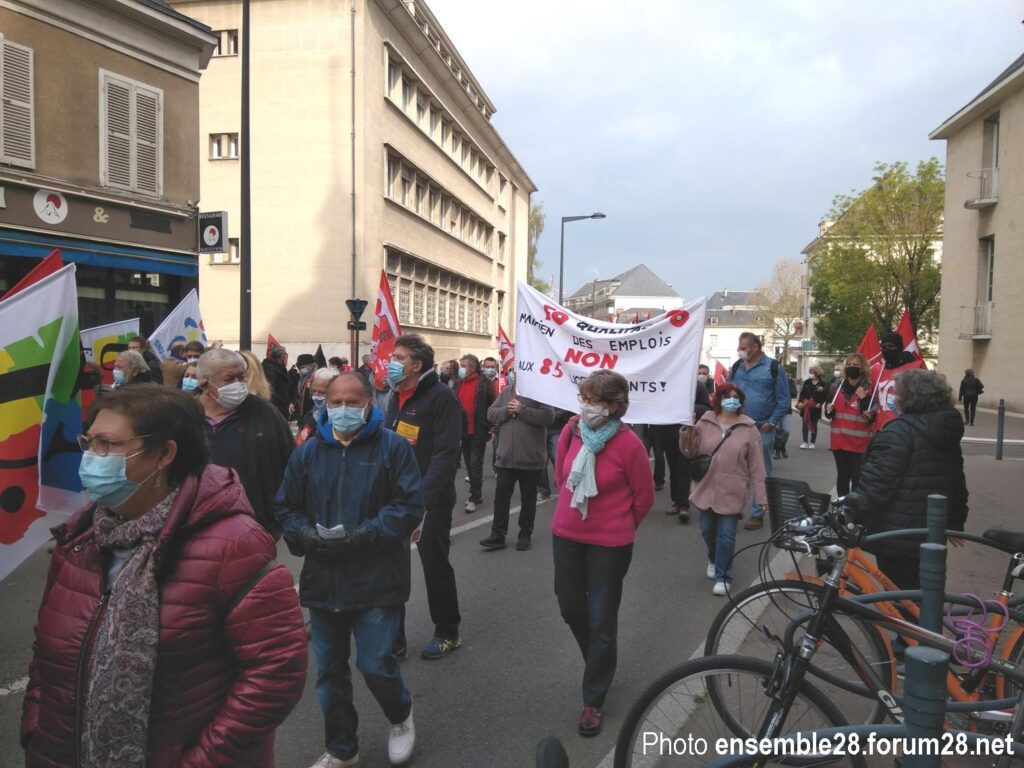 Chartres 1er Mai 2021 Manifestation