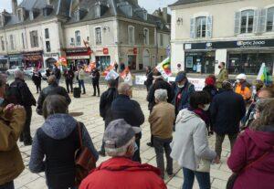 Châteaudun 1er Mai 2021 Rassemblement
