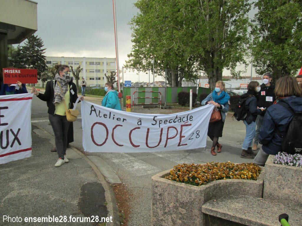 Dreux 1er Mai 2021 Manifestation