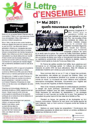La Lettre d'Ensemble 2021-04-28 Recto