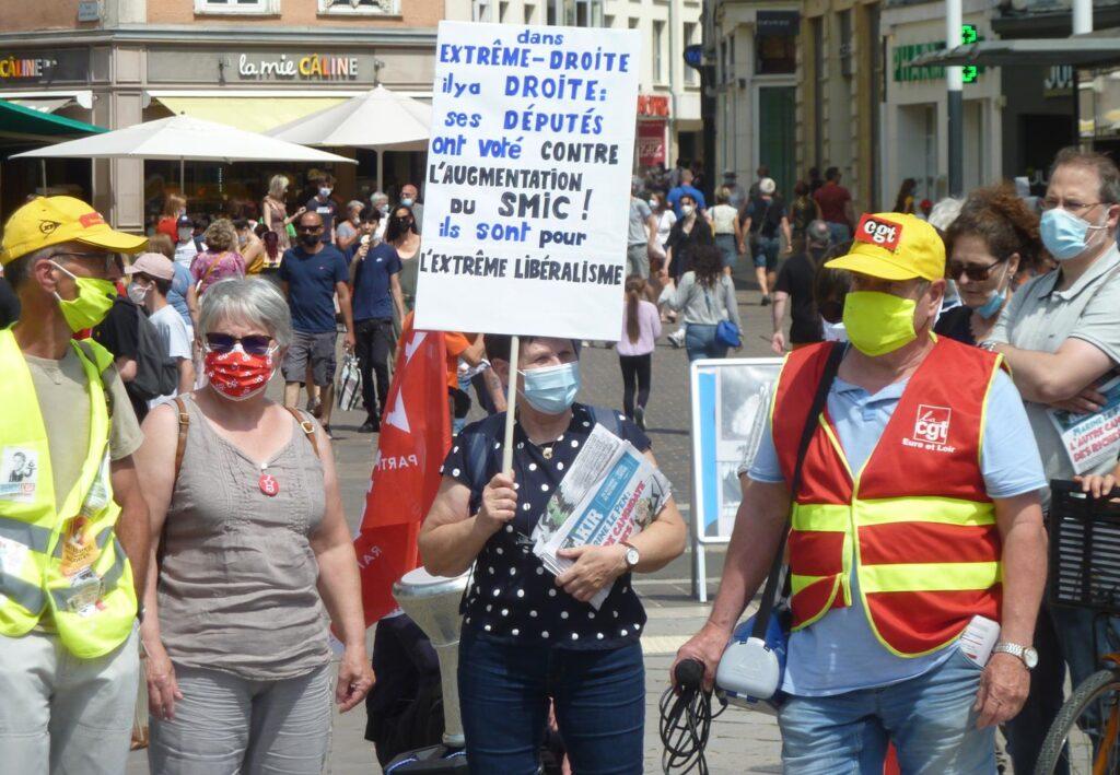 Chartres 12-06-2021 Rassemblement Libertés contre l'extrême-droite