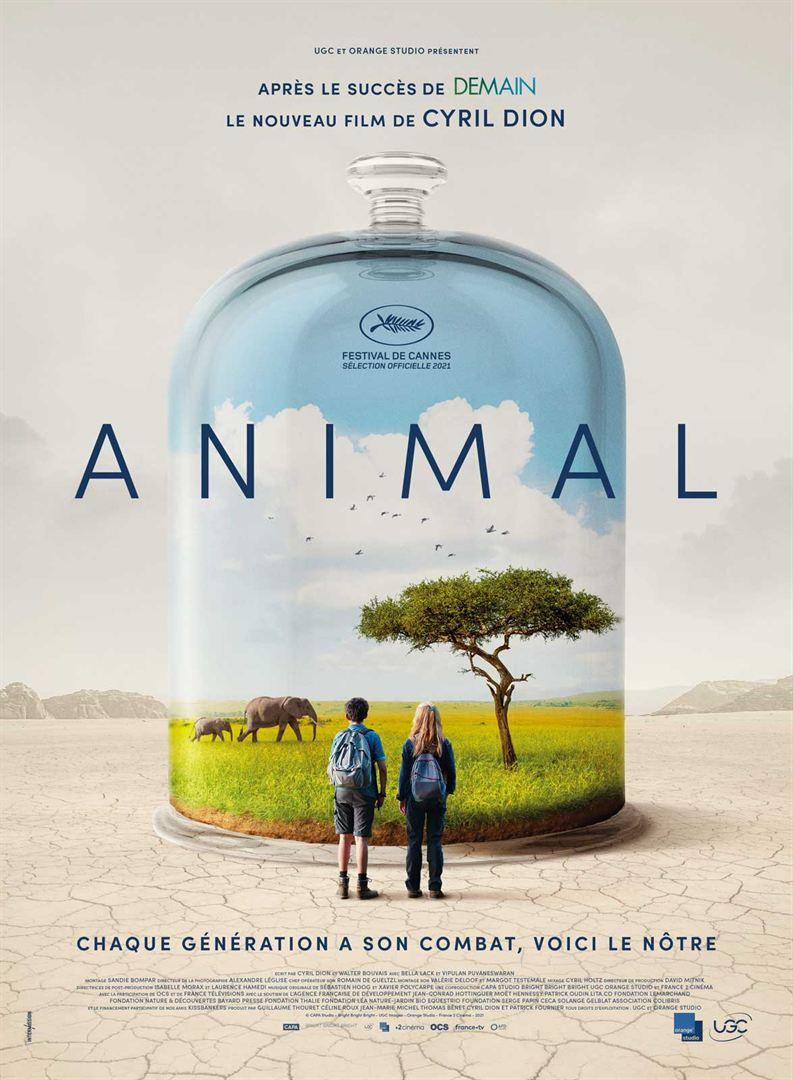 Animal [Affiche du film de Cyril Dion]