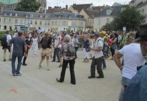 Chartres 31-07-2021 Manifestation Passe sanitaire
